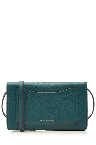 bag shoulder bag leather green