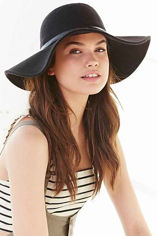 166eb0955bbed Staring At Stars Lola Felt Floppy Hat - Urban Outfitters