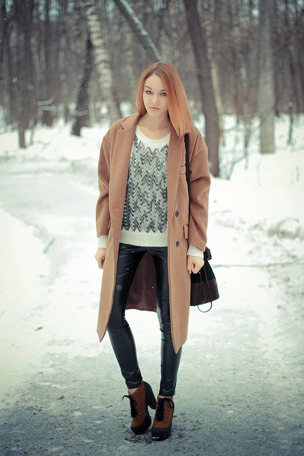 gvozdishe coat sweater pants shoes bag