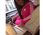 jacket,adidas track suit,hot pink,pants