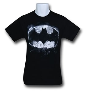 Batman chalk symbol t