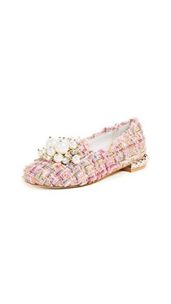 Jeffrey Campbell slippers smoking slippers pink shoes