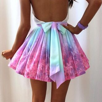 Galaxy Short Prom Dresses