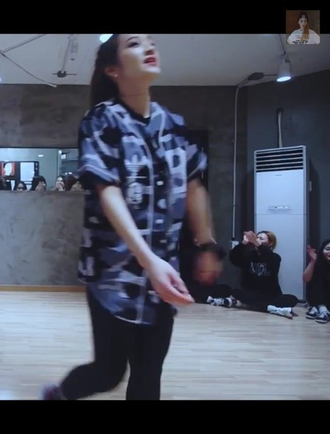 blouse kpop dance street rap