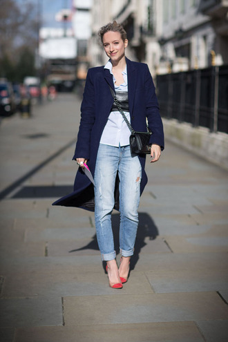 the fashion guitar coat shirt jeans shoes bag jewels