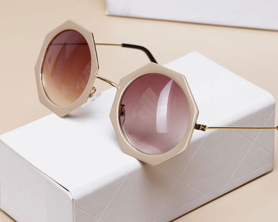 Retro chic round octagon sunglasses · fashion struck · online store powered by storenvy