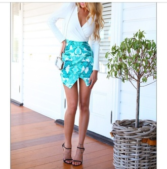 tropical tropical dress summer women girls clothing outfit fashion white dress celebrity style