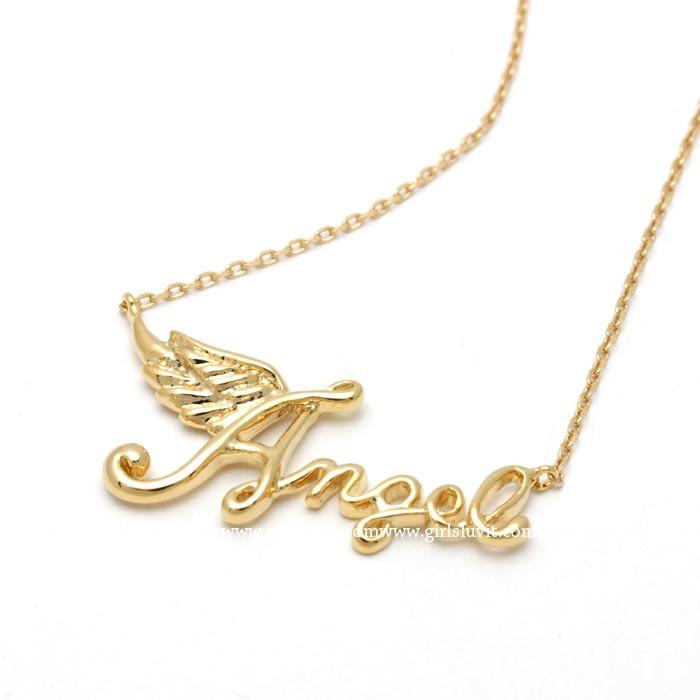 girlsluv.it - angel necklace