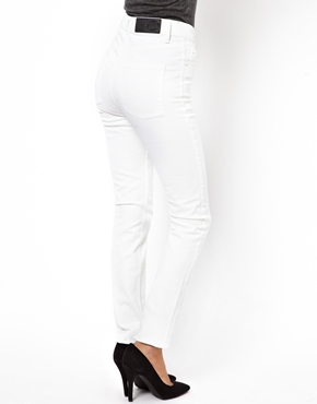 Cheap Monday | Cheap Monday Skinny Jeans In White at ASOS