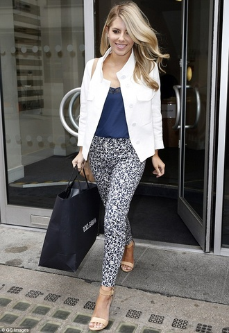 pants tribal pattern pattern mollie king the saturdays black