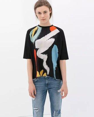 t-shirt printed t-shirt
