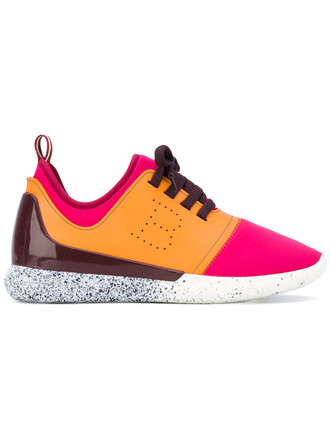 women sneakers leather neoprene shoes
