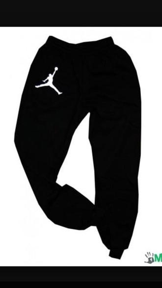 pants joggers black cute swag jordans nike