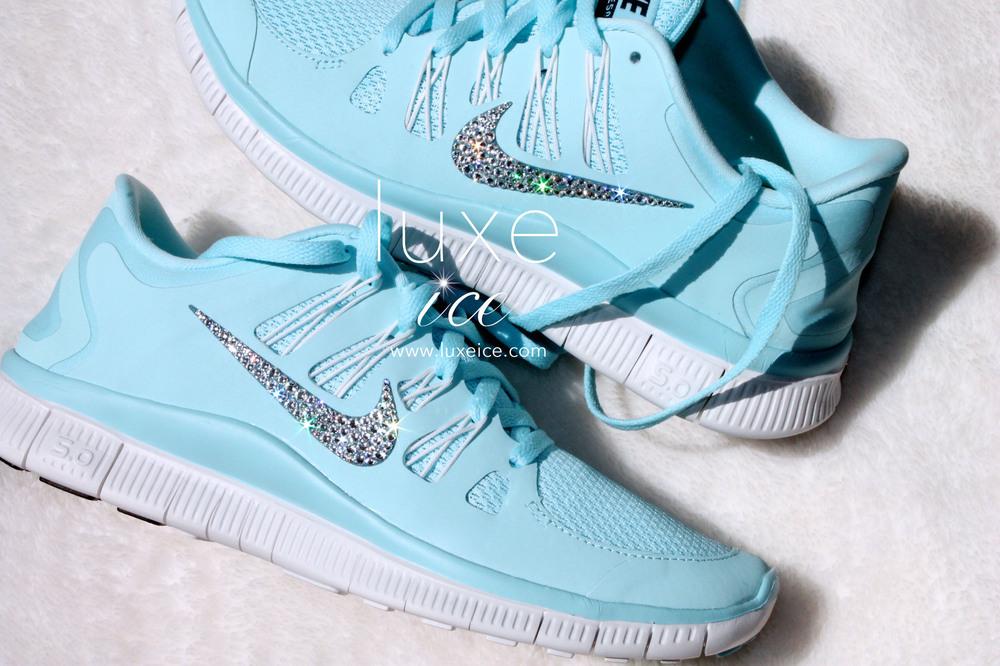 Nike free 5.0 glacier blue