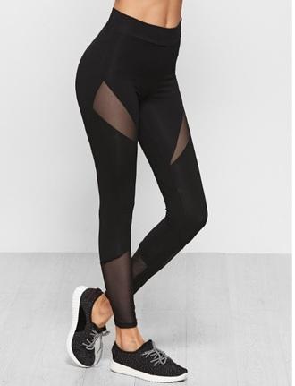 leggings black tights mesh