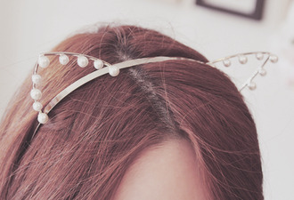 headband hair accessories pearl