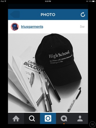 hat black style grunge jewelry funny funny quote fashion tumblr outfit cute dress idc instagram cap back to school high school