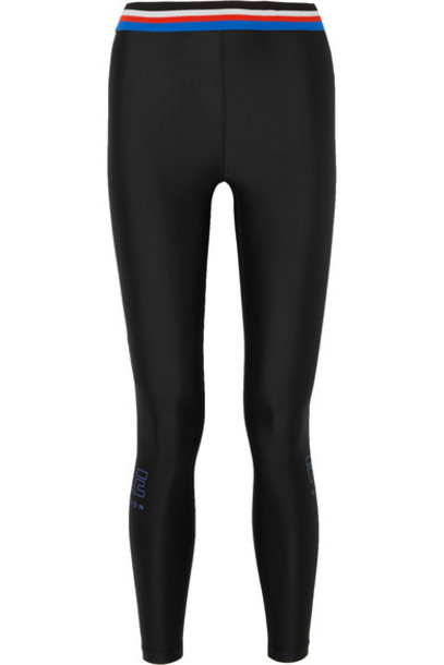 P.E Nation leggings fire black pants