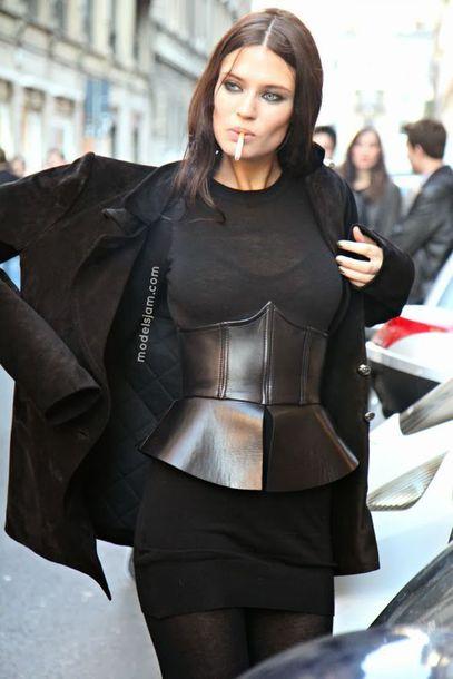 Belt Corset Black Belt Corset Belt Dress Little Black Dress