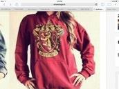 jacket,harry potter,hogwarts,hoodie,gryffindor