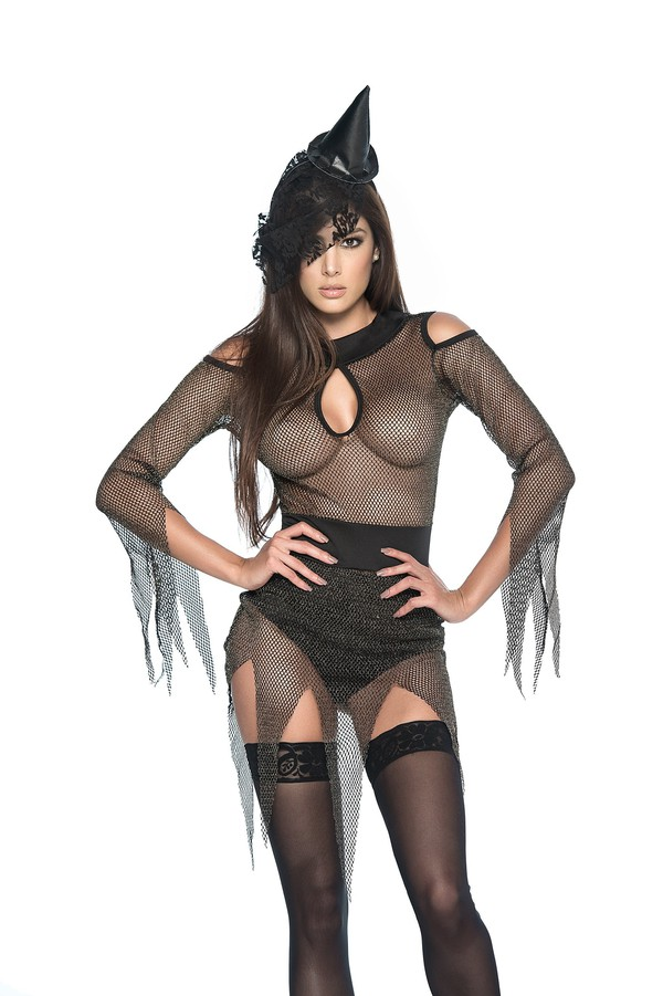dress witch witch outfit costume halloween halloween costume celebrity halloween costume lingerie sexy outfit black dress black