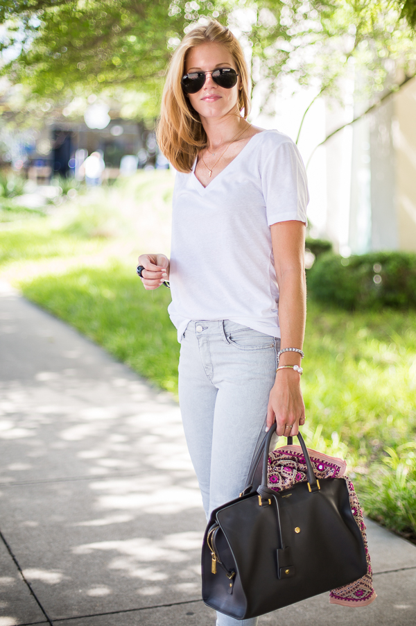Street Style Denim   Tees - A PIECE of TOAST // Lifestyle   Fashion Blog // Dallas
