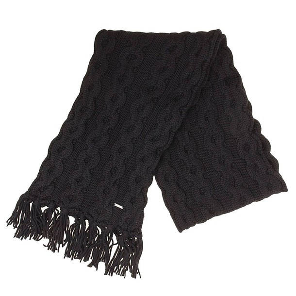 Woolrich women scarf black