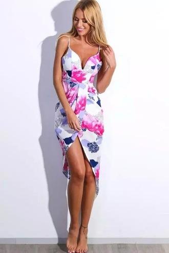 dress print dress strapless dress