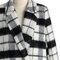 Classic charm tartan wool blend coat - retro, indie and unique fashion