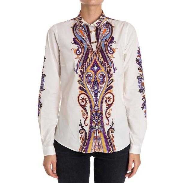 ETRO shirt women white top