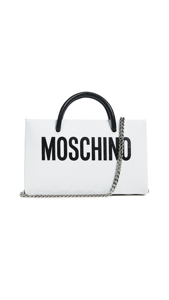 cross clutch white bag