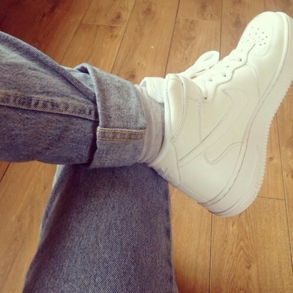 jeans shorts shoes
