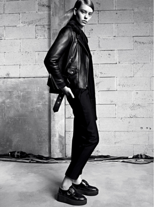 coat fashion lookbook sandro pants