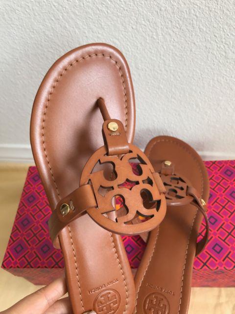 2bd5b772b4a009 NIB TORY BURCH Vintage Vachette Miller Thong Sandals ...