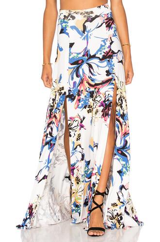 skirt maxi skirt maxi white