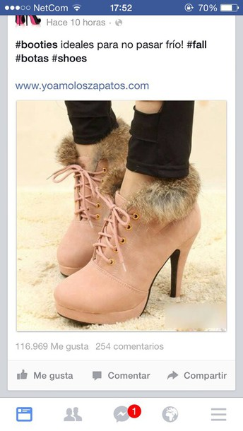 shoes booties\ booties black winter boots furry boots cute shoes