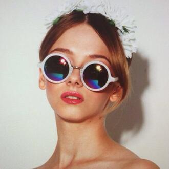 sunglasses round sunglasses white sunglasses asos