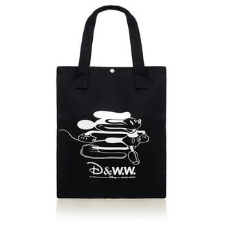 bag tote bag canvas bag black bag disney disney bag