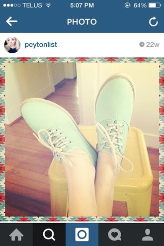 green peyton list shoes