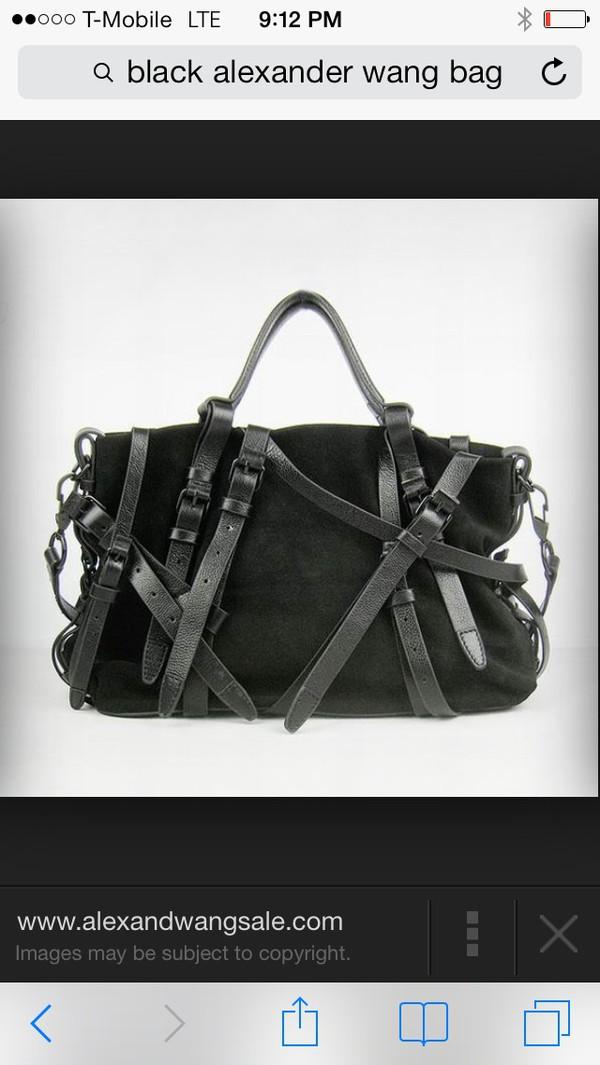 bag black straps