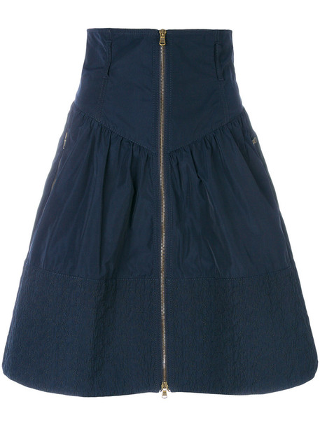 Tomas Maier skirt women sporty blue