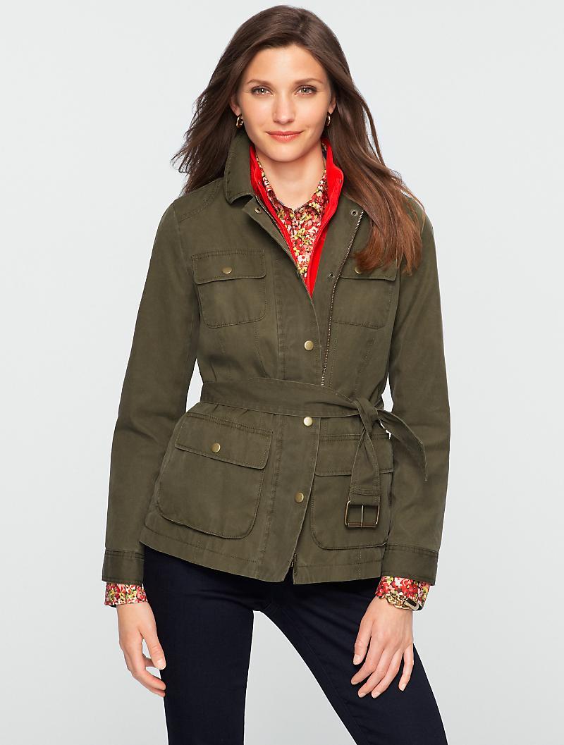 Talbots - Belted Field Coat