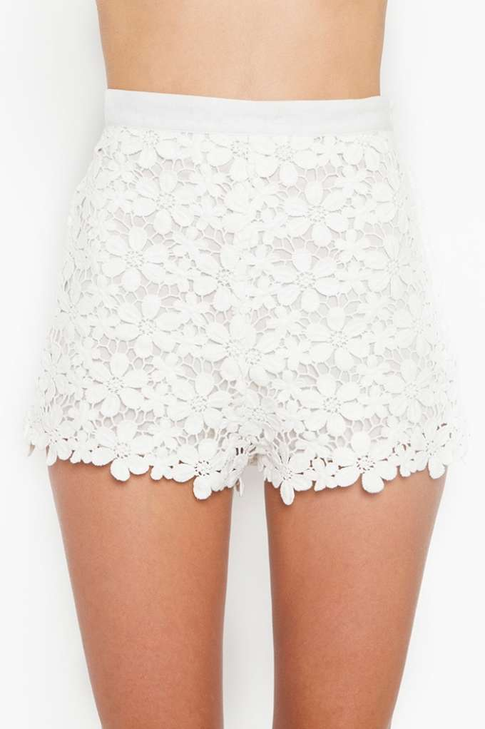 Daisy Crochet Shorts | Shop Clothes at Nasty Gal