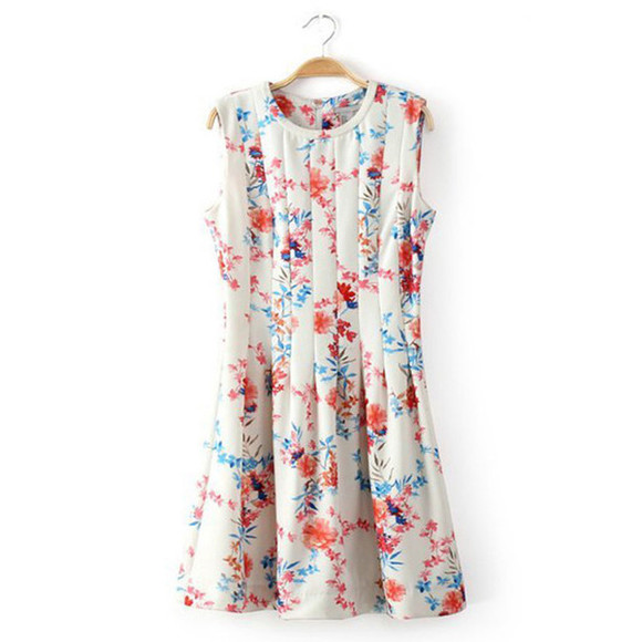 sundress summer dress summer outfits floral print dress