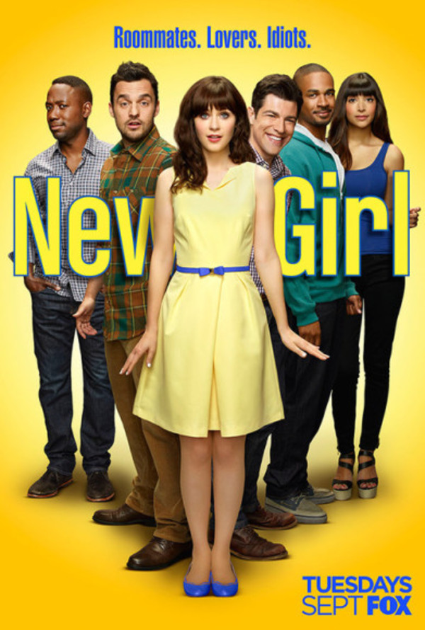 dress yellow dress zooey deschanel new girl belt