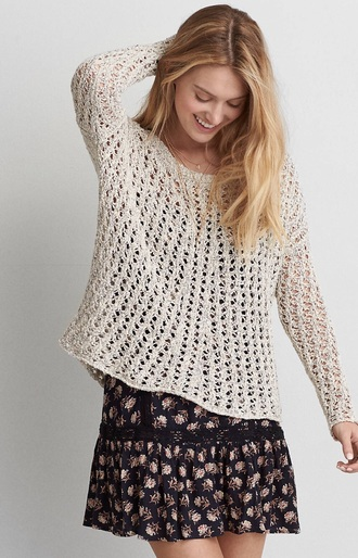 sweater american eagle outfitters knitted sweater