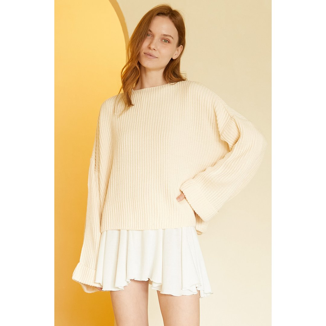 Amy Oversized Chunky Sweater