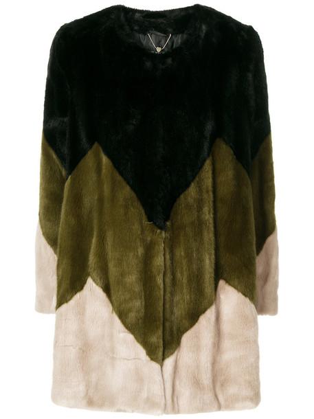 Twin-Set coat furry coat women