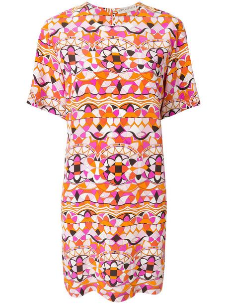 Emilio Pucci dress print dress women print silk