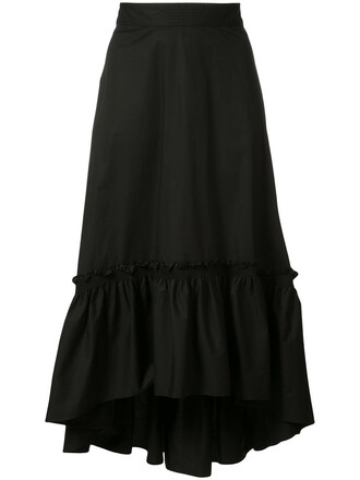 skirt pleated skirt pleated women spandex cotton black